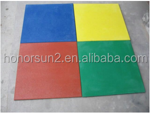 colorful granulated epdm rubber flooring for running track