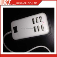 factory price UK or EU power switch universal extension socket USB Desktop charger