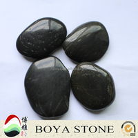 Black Natural Stone Beach Pebble