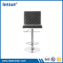 Wholesale Chinese Manufacture Industrial Wingback Commercial Furniture Bar Stool With T Shape Footrest