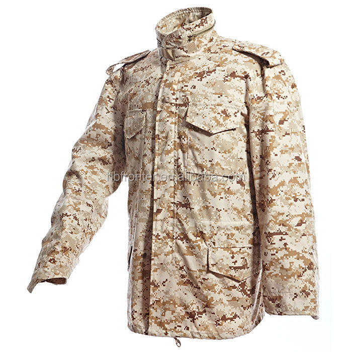 camouflage M65 Military Tactical Winter Jacket with liner Men jacket