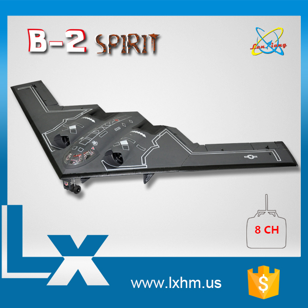 New bomber toy rc b2 spy plane