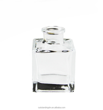 180ml Empty Clear Glass Fragrance Screw Oil Reed Diffuser Bottle