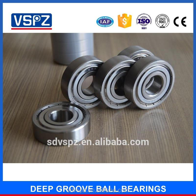 Competitive price high speed 608 full ceramic bearings deep groove ball bearing 608 8*22*7 for roller skates