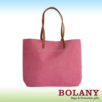 simple fashion Jute Shopping Bag
