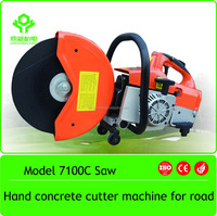 71cc Cut Off Saw Hand Gasoline Concrete Steel Metal road cutter