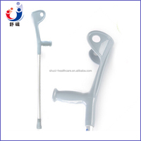 Aluminuim adjustable walking cane/stick/crutch/staff with arm support+handle for elderly/patient/disabled health care