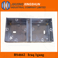BS4662 IP68 metal electrical box