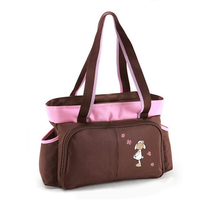 Young ladies fashion adult baby diaper bag, high quality nappy bag