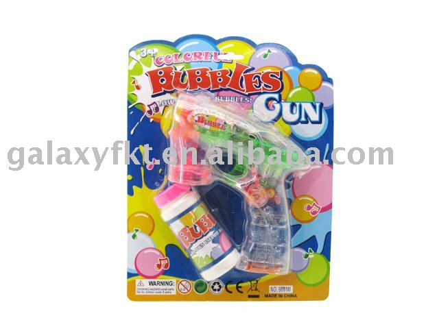 Led Bubble gun with music