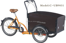 three wheels cargo bike Tricycle for heavy cargo transportation