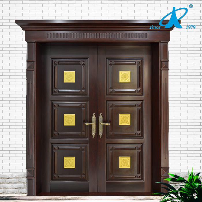 Main Door Teak wood double front door design