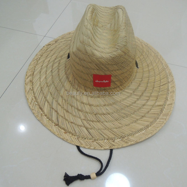 2015 fashional design men's summer lifeguard hats