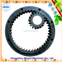 spikes stainless steel ring /Pinion Gears Ring for concrete mixer & planetary gear set for rotavator