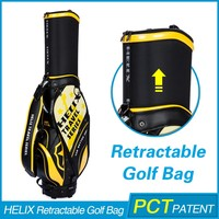 New model golf bag with speakers with rain cover