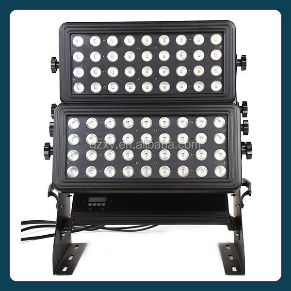 ip65 72pcs x10W rgbw double head outdoor led city color light