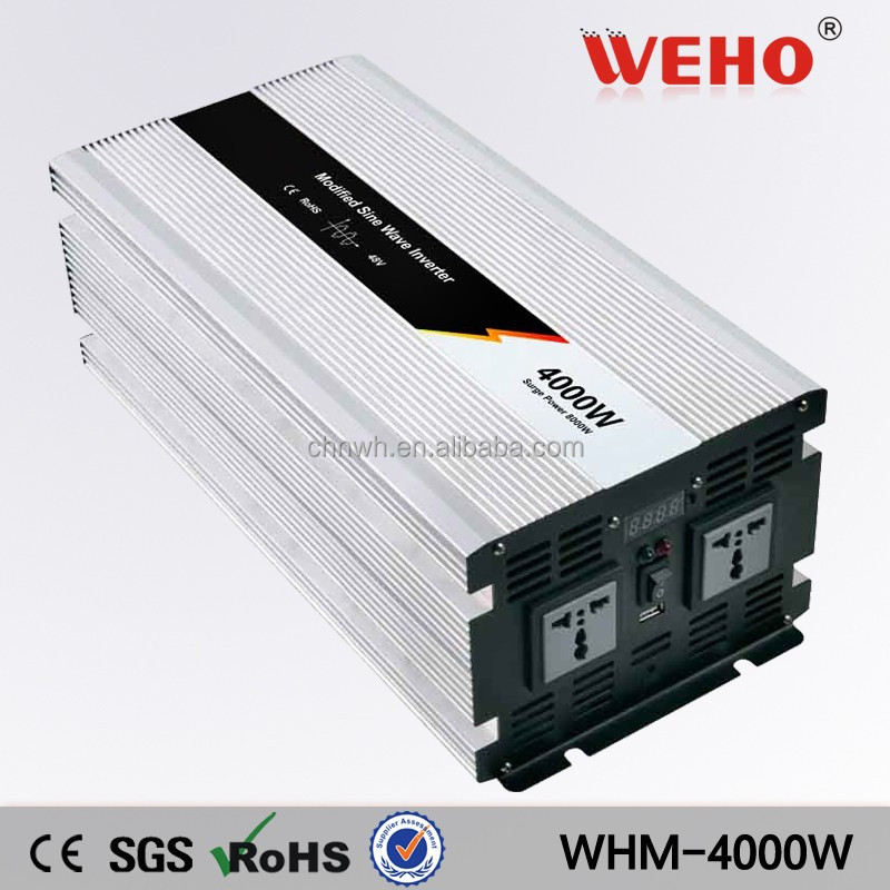 High efficiency 4000w 220v 24v inverter solar power inverter for home