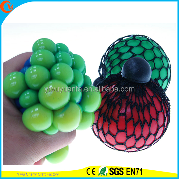 Hot Selling High Quality TPR LED Mesh Squish Ball