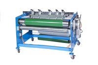 Automatic pvc/pu conveyor belt cutting machine with higher efficiency