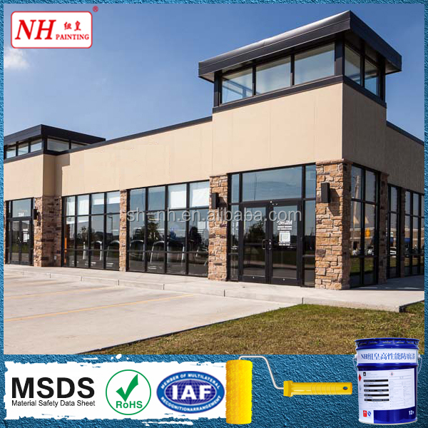 Weather Resistant Paint Exterior Acrylic Building Coating
