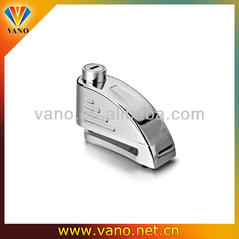 Made In China Motorbike disk alarm lock anti-theft lock K808A
