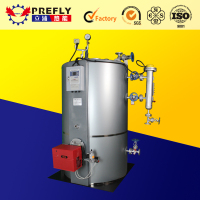 new hot selling commercial gas boiler & vertical 100kg steam boiler