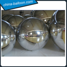 Hot selling inflatable mirror ball PVC new product inflatable mirror ball decorative inflatable balloon with lower price