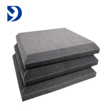 2017 New Type Breathable Fire Retardant Pu Sponge Sound Proofing Flat Acoustic Foam Panels