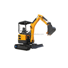 China supply small digger machine 2.2T RC mini excavator for sale