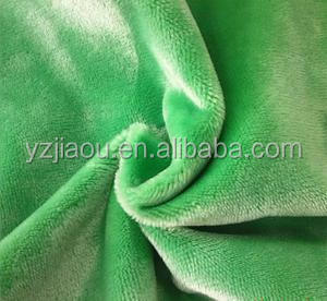 HOT SALE Free Samlpe 100% Polyester 1.5 Soft minky cuddle velboa fabric stock lots