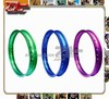 Yellow Red Blue Black Chrome Motorcycle Rim
