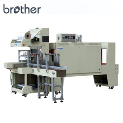 Automatic Thermal Heat PVC Plastic Film Foil PET Bottle Shrink Sleeve Seal Sealing Cutting Wrap Wrapping Packing Machine