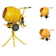 140L 160L 180L 200L Portable Mini Manual Cement Mixer/electric concrete mixer with stand