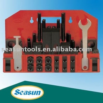 58pcs Deluxe Steel Clamping Kit