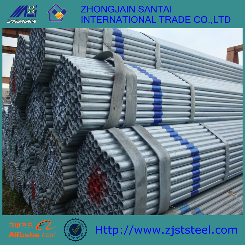 High Quolity Best price Q195 215 235 345 ISO 9001-2000 Galvanized steel pipe ERW steel pipe welded steel pipe