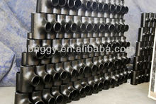 ASME B16.9 seamless BW carbon steel y tee fittings