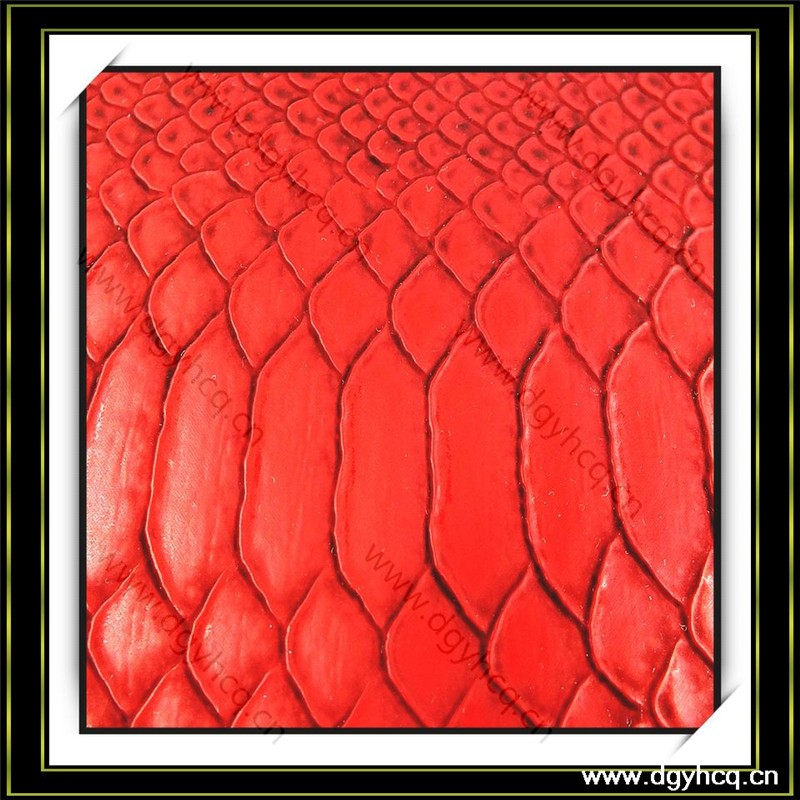 0.7mm-1.3mm crocodile pattern pu synthetic <strong>leather</strong> for shoes wallet