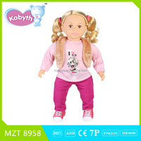 2015 New !Own Design High Quality PVC 22 Inch Baby Doll