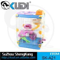 Hot sale colorful three layers hamster cage