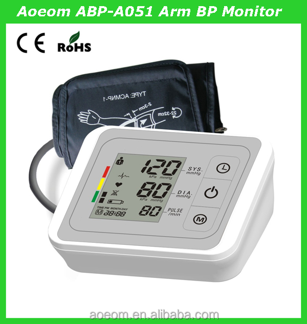 Home use Electronic Medical Monitor blood pressure measurement device