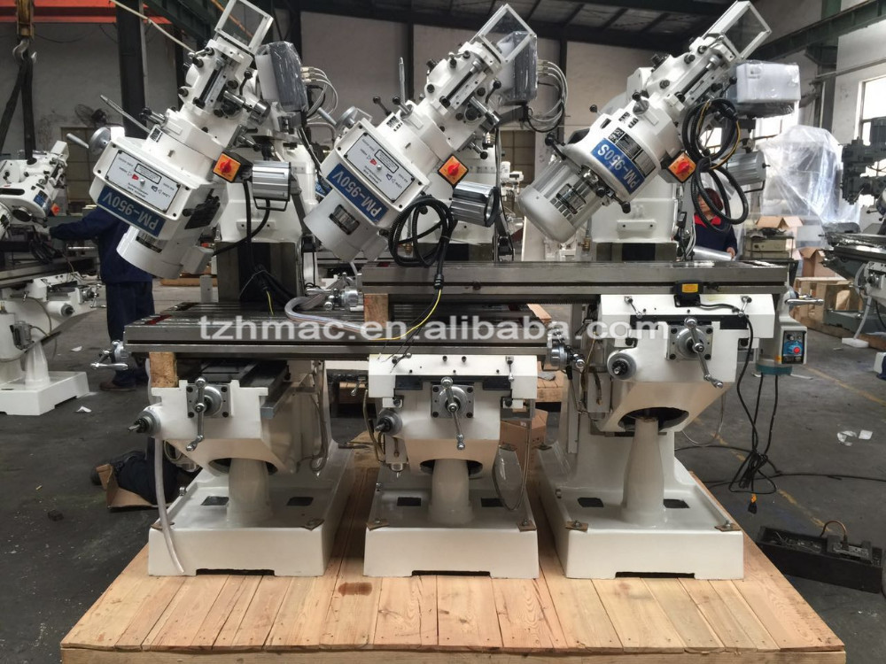 Horizontal power cnc milling machine fresadora low price hot sell in saudi arabia