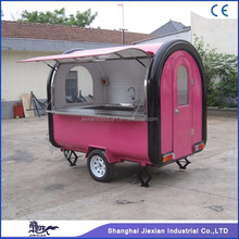 JX-FR250B Jiexian outdoor mobile fast food van in nice appearance for sale 2017