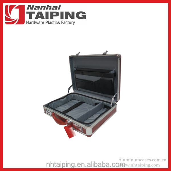 Aluminum Red Color Women Computer Briefcase
