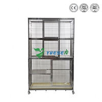 Cheapest price animal use portable cat cage /aluminum dog cage/ outside dog cage
