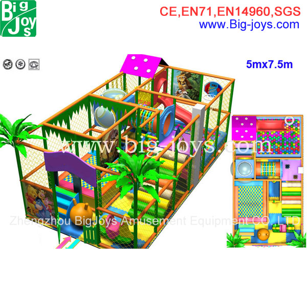 Home plastic toy jungle gyms for kids indoor playground