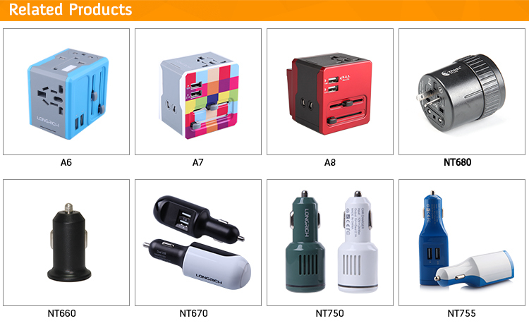 China Wholesale Universal Travel Adapter Best Friend Birthday Gift