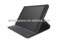Handheld case for ipad mini 2 leather with leather and PC by China supplier