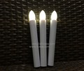 hot sale battery operated flickery flameless mini led tea light candle