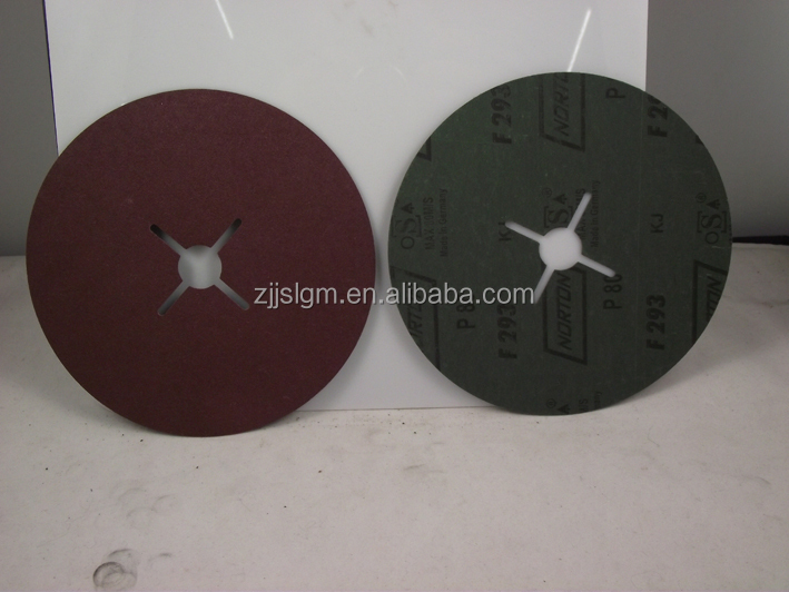 5inch fibre disc polishing for wood, metal,glass, marble