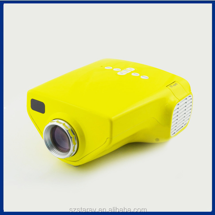 HD 1080p supported Best sale Pocket Projector E03 with HDMI USB for party hotel birthday gift
